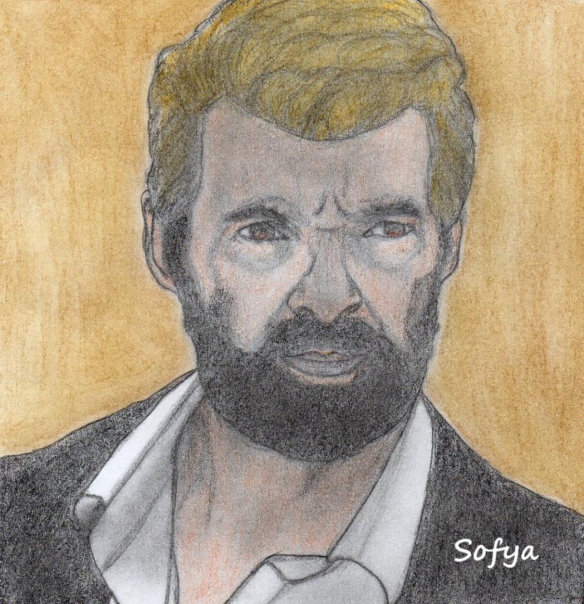 Hugh Jackman by Sofya
